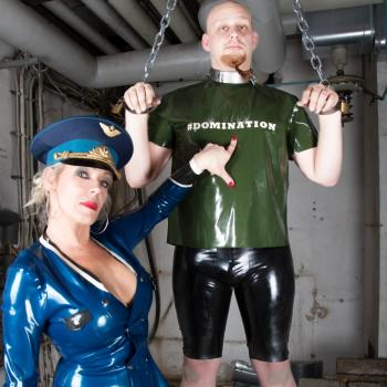 Latex Shirt #DOMINATION